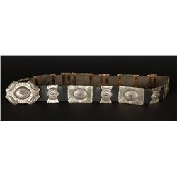Sterling Concho Belt