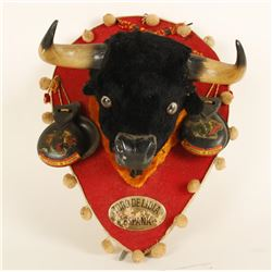 Mexican Mini Bull Mount