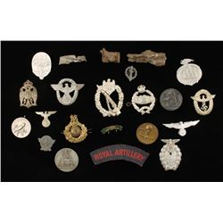 Collection of Nazi Pins