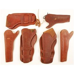 Lot of 6 Oklahoma Holsters