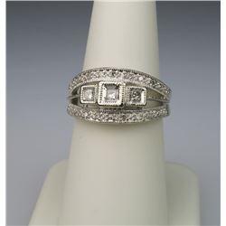 Edwardian Style Diamond Ring.