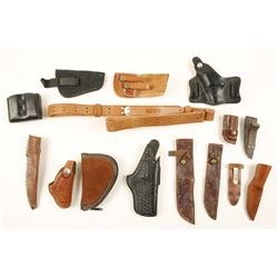Lot of 15 Misc. Leather Goods