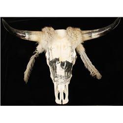 Decorative Steer Skull
