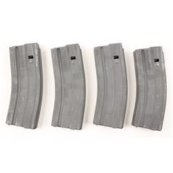 Lot of 4 AR-15 Mags