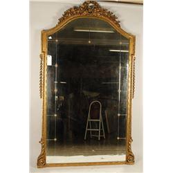 Large Gold Gilt Hotel Mirror