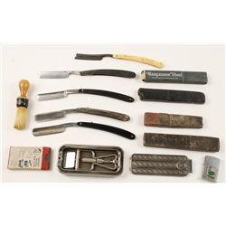 Lot of Shaving and Grooming Accessories