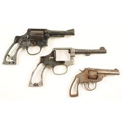 Lot of 3 Parts Pistols