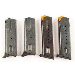 Lot Of 4 High Cap Mags