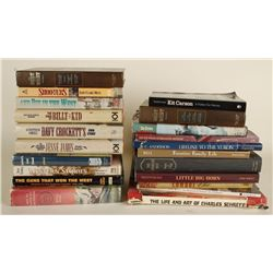 Lot of Western Theme Books
