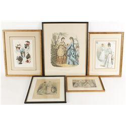Collection of 5 Fine Art Prints