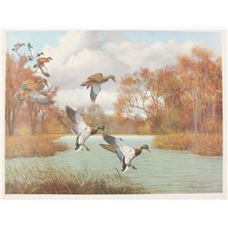 """Russell Johnson Print """"Early Arrivals"""""""