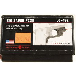 Sig Sauer P238 Crimson Trace