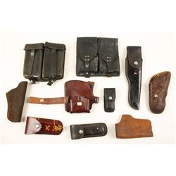 Misc Leather Lot