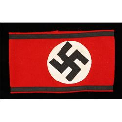 German WWII Waffen SS Officers Overcoat Arm Band.