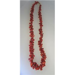 Red Coral Necklace.