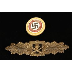 Lot of German WWII Badges.