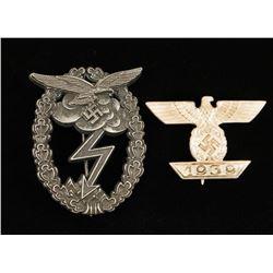 German WWII Badges.
