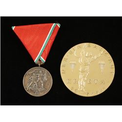 Lot of 2 German WWII Awards.