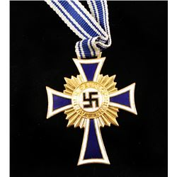 German WWII Gold Mothers Cross.