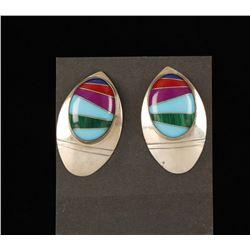 Beautiful Inlaid Earrings.