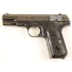 Colt 1908 Hammerless .380 SN: 36591
