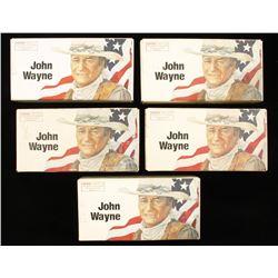 5 Boxes John Wayne Commemorative Ammo