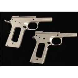 Lot of 2 Mitchell Arms 1911 Frames SN: MIKIE1 & M9