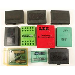 Boxed Lot of Loading Dies.