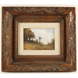 Original Oil on Board by A.D. Adams