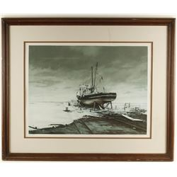 Original Lithograph by Lubeck