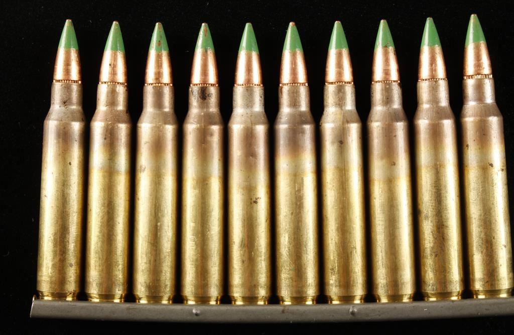 1000 Rounds 5 56 Lake City Green Tip Ammo