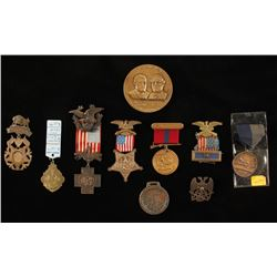 Lot of Military Pins and Awards