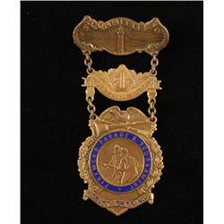 Fireman's Ladder Badge