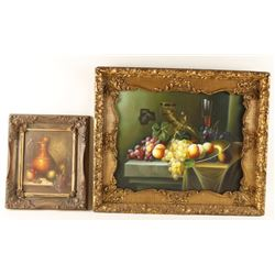 Lot of 2 Art Pieces