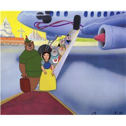 Original Commercial Production Cel of Walt Disney Characters for Disneyland