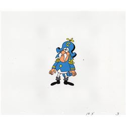 Collection of Jay Ward Production Cels and Production Drawings for Captain Crunch Cereal