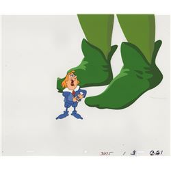 Large Collection of Production Cels and Production Drawings for Green Giant