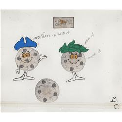 Pair of Production Model Cel for Nestle's Cookie Advertisement