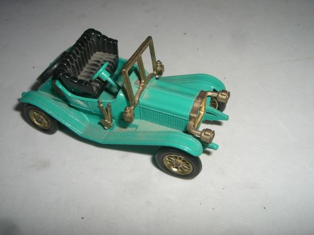 Vintage Very Rare Diecast Toy 1911 Maxwell Roadster Car Stamped Tootsietoy Englad Book Value 40