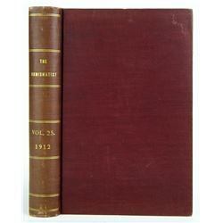 1912 Volume of the Numismatist
