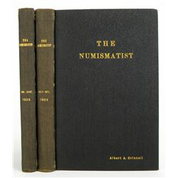 1926 Volume of the Numismatist