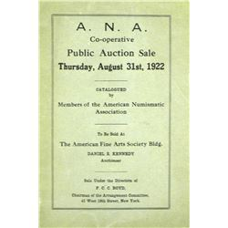 The Rare 1922 ANA Sale