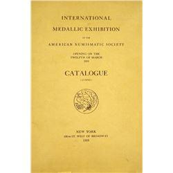 1910 ANS Exhibition Catalogue: Coins