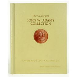 Hardcover John W. Adams Large Cents