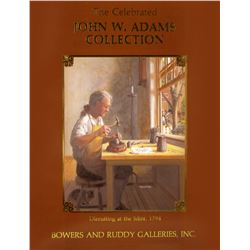 John W. Adams Large Cents
