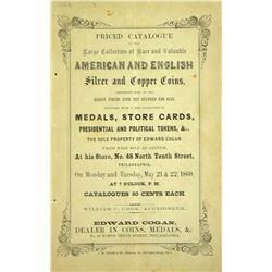 Cogan's May 1860 Sale