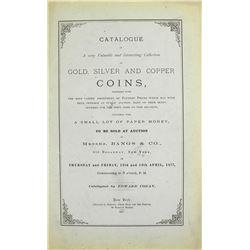 Cogan's 1877 Jenks Sale