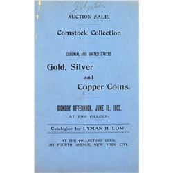 Comstock Sale, Part I