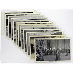 Set of Twelve 1915 Postcards of the Royal Canadian Mint