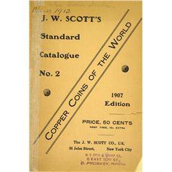 1907 Scott Catalogue on World Copper